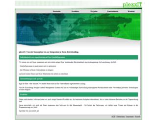 plexx-it.de screenshot