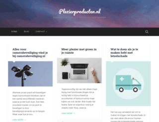 plezierproducten.nl screenshot