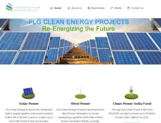 plgcleanenergy.com screenshot