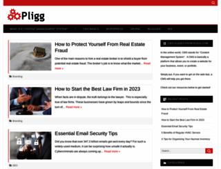 pligg.com screenshot