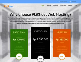 plikhost.com screenshot