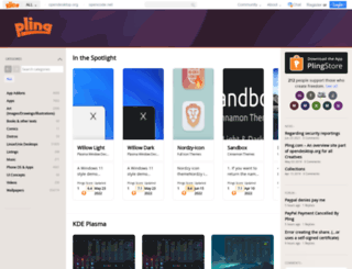 pling.com screenshot