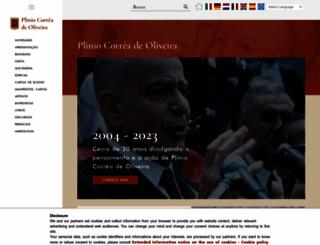 pliniocorreadeoliveira.info screenshot