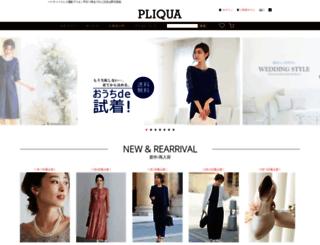 pliqua.co.jp screenshot