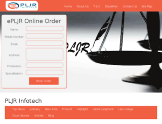pljrinfotech.com screenshot