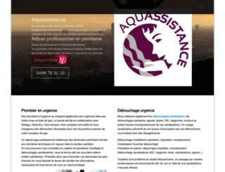 plomberie-plombier.be screenshot