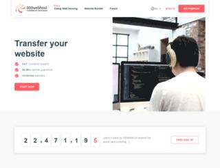 plombier.webatu.com screenshot