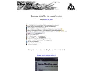 plopblog.com screenshot