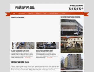 plosinypraha.eu screenshot