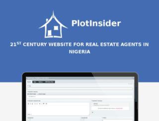 plotinsider.com screenshot