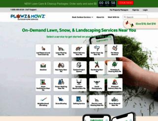 plowzandmowz.com screenshot