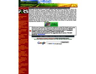 plrs.org.in screenshot