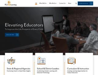 pls3rdlearning.com screenshot