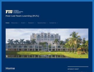 pltl.fiu.edu screenshot