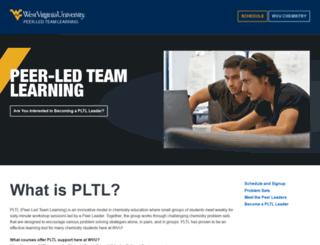 pltl.wvu.edu screenshot