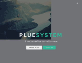 pluesystem.com screenshot