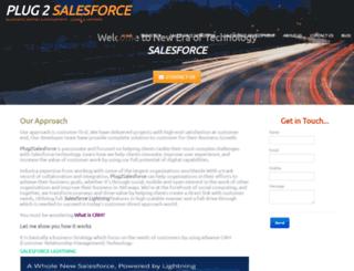 plug2salesforce.com screenshot