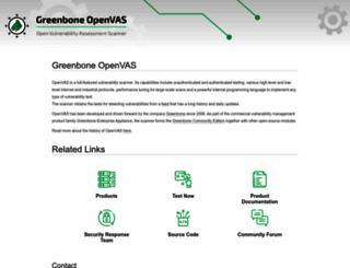 plugins.openvas.org screenshot
