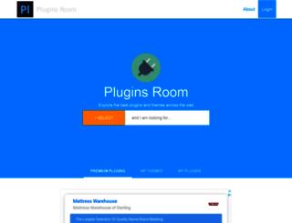 pluginsroom.com screenshot