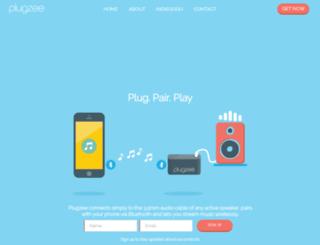 plugzee.com screenshot