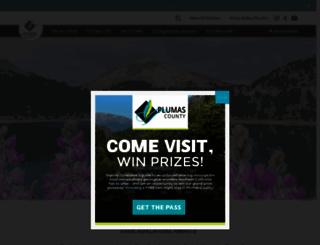 plumascounty.org screenshot