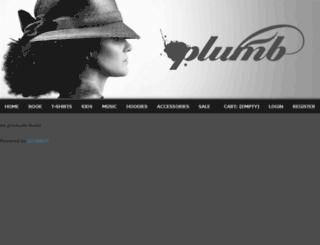 plumb.gomerch.com screenshot