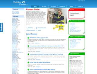 plumber-finder.co.uk screenshot
