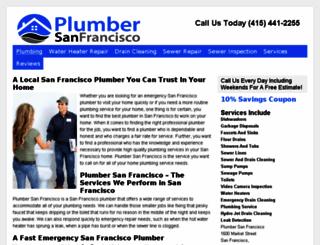 plumber-san-francisco.com screenshot