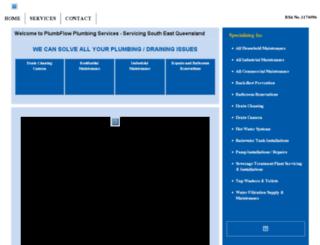 plumbflow.com.au screenshot