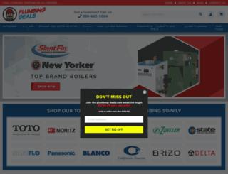 plumbing-deals.com screenshot