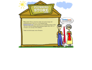 plumbingstore.com screenshot