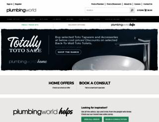 plumbingworld.co.nz screenshot