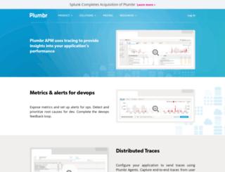 plumbr.eu screenshot
