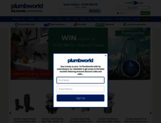 plumbworld.co.uk screenshot