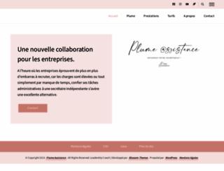 plume-assistance.fr screenshot