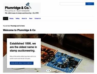plumridge.co.uk screenshot