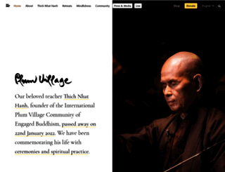plumvillage.org screenshot