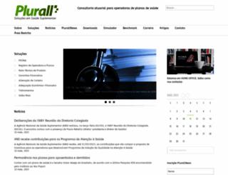 plurall.com.br screenshot