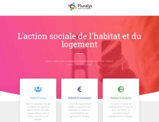 pluralys.fr screenshot