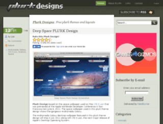 plurkdesigns.com screenshot