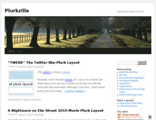 plurkzilla.com screenshot