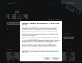 plus-belle-la-vie.france3.fr screenshot