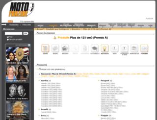 plus-de-125cc.motofanzine.fr screenshot