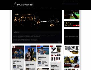 plus-fishing.com screenshot