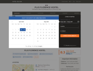 plus-florence.florencehotelitaly.net screenshot