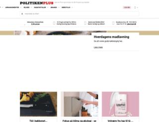 plus.politiken.dk screenshot