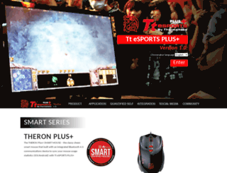 plus.ttesports.com screenshot