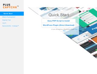 pluscaptcha.com screenshot