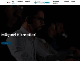 pluscom.com.tr screenshot