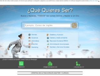 plusformacion.com screenshot